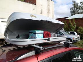 Автобокс на крышу «Автотриал»